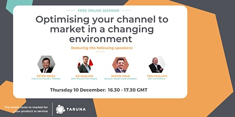 Optimising your channel to market in a changing environment tickets