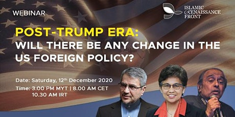 "WEBINAR: ""Post-Trump era: Will there be any change in the US Foreign Policy tickets"