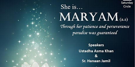 She is.. Maryam (AS) tickets