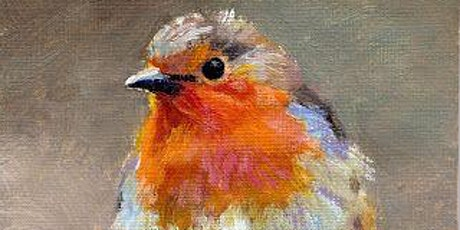 Paint and Sip at Home  'Christmas Robin' tickets