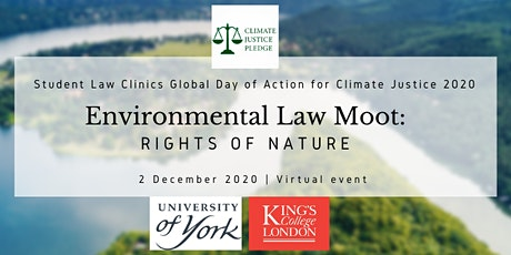 Environmental Law Moot: Rights of Nature tickets