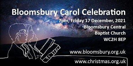 Bloomsbury Carol Celebration 2021 tickets