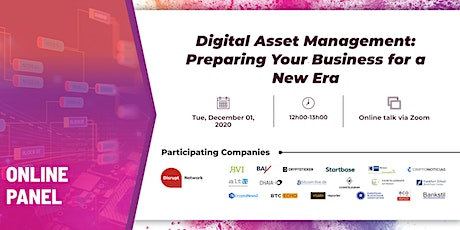 Digital Asset Management: Preparing Your Business for a New Era tickets