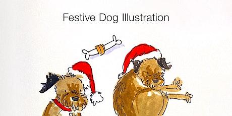Festive Dog Illustration Workshop with Becca Hall Illustration x Tombow UK tickets