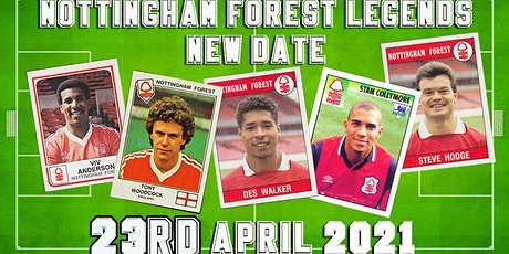 An Evening with Nottingham Forest Legends tickets