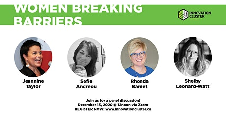 Women Breaking Barriers: A Panel Discussion tickets