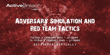 Adversary Simulation and Red Team Tactics tickets