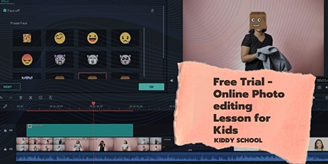 Free Trial - Online Photo editing Lesson for Kids tickets