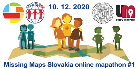 Missing Maps Slovakia online mapathon #1 tickets