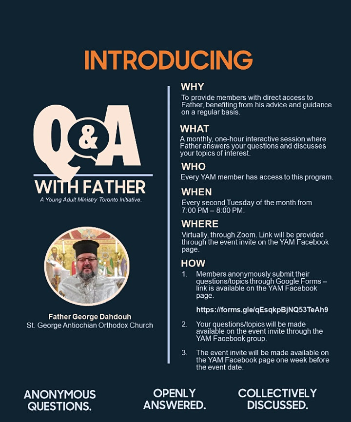 Q&A With Father image