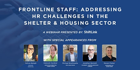 Frontline Staff: Addressing HR Challenges in the Shelter & Housing Sector tickets