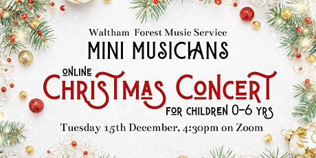 Mini Musicians Online Christmas Concert tickets