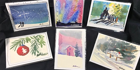 Watercolor Card-Making Mini-Workshop tickets