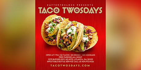 THIS TUESDAY :: TACO TWOSDAYS  AT MEDUSA LOUNGE & RESTAURANT tickets