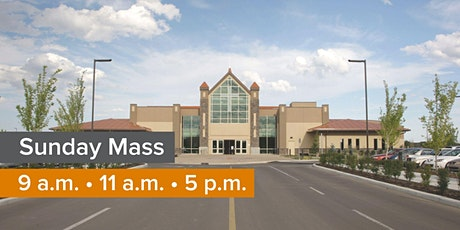 SUNDAY MASS 5 PM (multiple dates) tickets