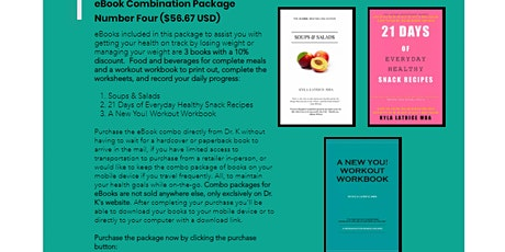 How I lost 170lbs. (eBook Combination Package Number Four)-North Carolina tickets