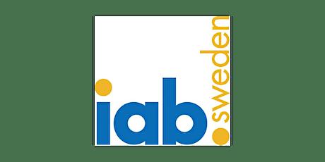 Inbjudan till svenska Europaparlamentariker från IAB Sverige tickets
