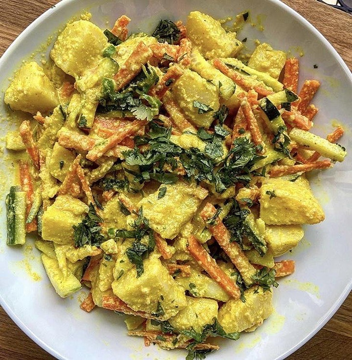 Vegetarian Nepalese cookery class with Urmila image