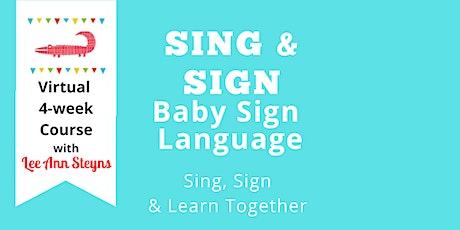 January SING & SIGN Baby Sign Language (Mondays 4:00pm)