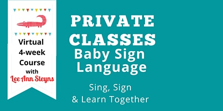Private Group Beginner Baby Signing on Zoom w/ Signing Babies (Tues. 10:45)
