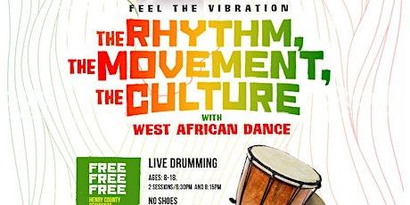 Children West African Dance (Free) tickets
