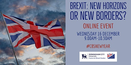 Brexit: New Horizons or New Borders? tickets