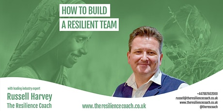 How to build a resilient team tickets