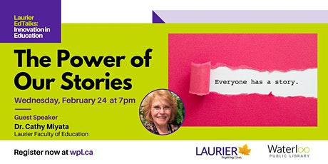 Laurier EdTalks: Innovation in Education - The Power of our Stories tickets