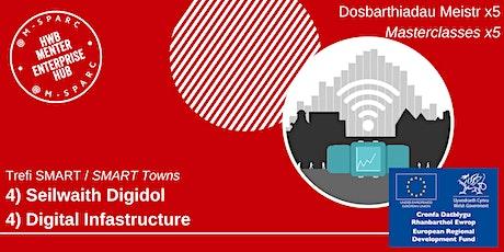 Trefi SMART-Seilwaith Digidol/SMART Towns-Digital Infrastructure tickets