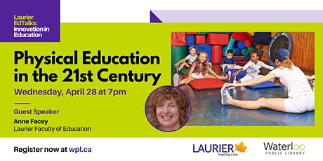 Laurier EdTalks -  Physical Literacy in the 21st century tickets