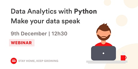 Data Analytics with Python | Le Wagon Rio tickets