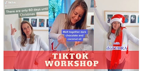 Beginner's Workshop: How to make TikToks for your Business tickets