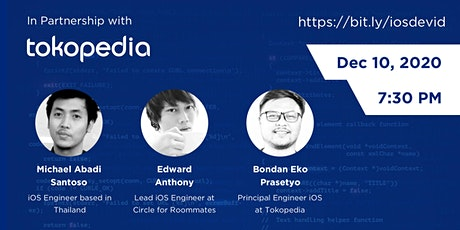 iOS Developers Indonesia Conference #1 tickets