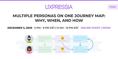 Multiple Personas on One Journey Map: Why, When, and How tickets