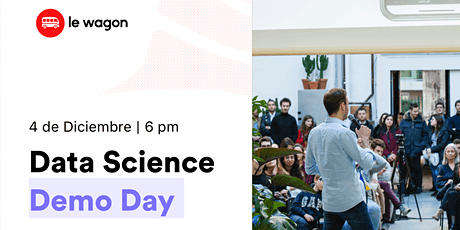 Le Wagon Data Science Demo Day - Batch #479 entradas