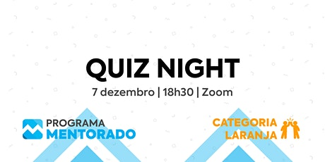 Programa Mentorado 2020/21 - Quiz Night tickets