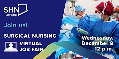 Scarborough Health Network Surgical Nursing Virtual Job Fair tickets