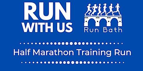 Run Bath - Bath Half Marathon Training Run tickets