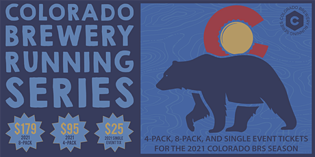 Colorado Brewery Running Series - 2021 4-Pack, 8-Pack, Single Event Tickets tickets