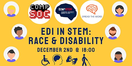 EDI in STEM: Race and Disability – Workshop tickets