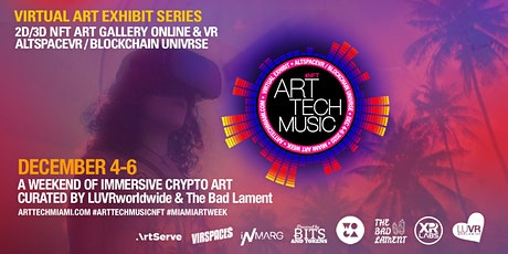 ART TECH MUSIC NFT - MIAMI ART WEEK tickets