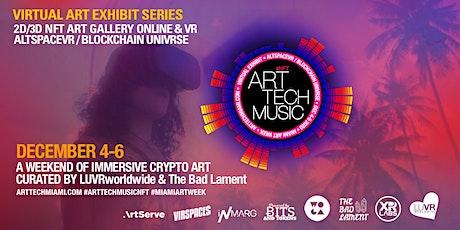ART TECH MUSIC NFT - MIAMI ART WEEK billets