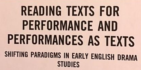 Book Launch of Pamela King's Selected Essays: Reading Texts for Performance tickets