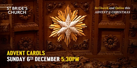 Advent Carol Service - In Church and Online tickets