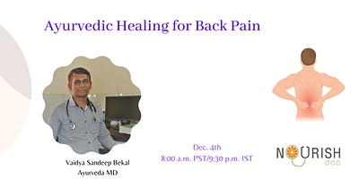 Ayurvedic Therapy for Back Pain Relief