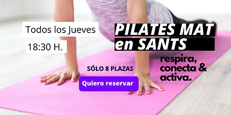 Pilates Mat en Sants entradas