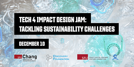 Tech 4 Impact Design Jam: Tackling Sustainability Challenges tickets
