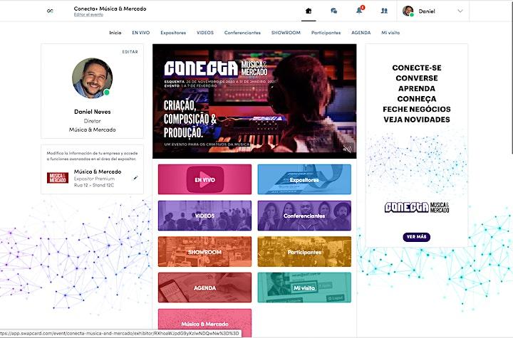 Imagen de Conecta+ Música & Mercado