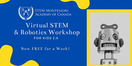 Virtual STEM and Robotics Workshop for Kids 2.0 tickets