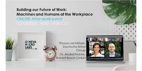 Building our Future of Work: Machines and Humans at the Workplace tickets